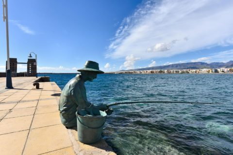 Statua del pescatore di Arinaga