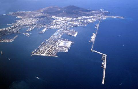 Il porto di Las Palmas