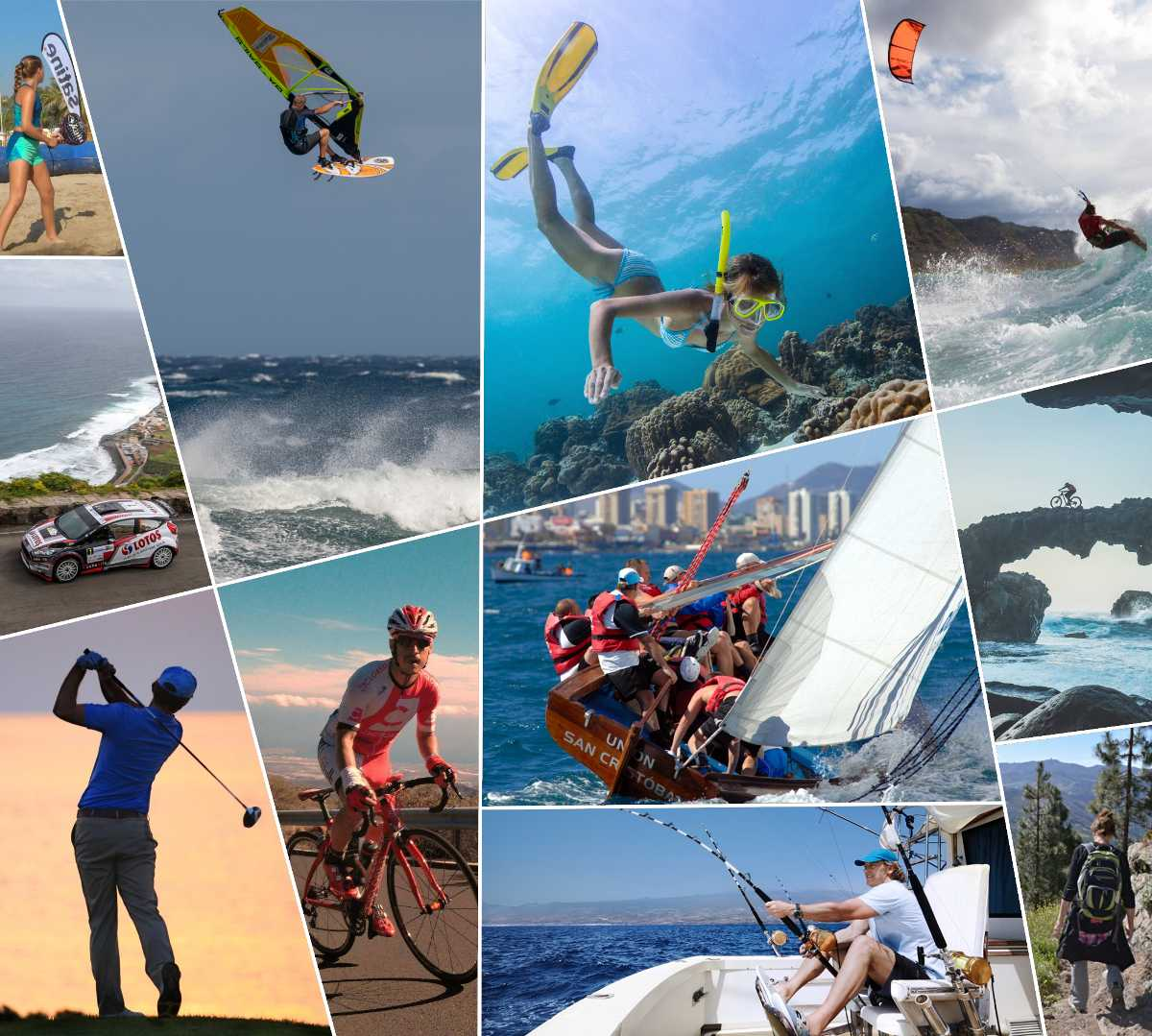 collage di sport