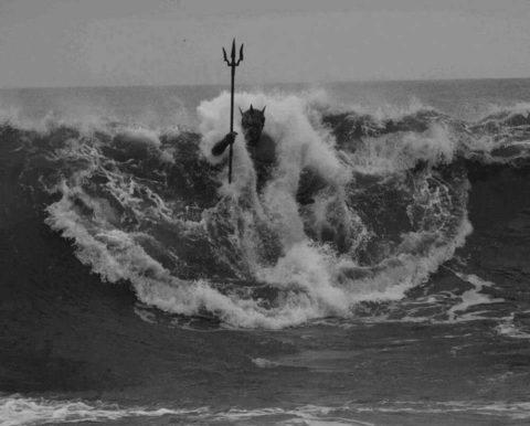 Statua di Poseidone a Melenara